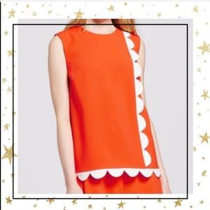 Victoria Beckham For Target 3X orange top (C5)